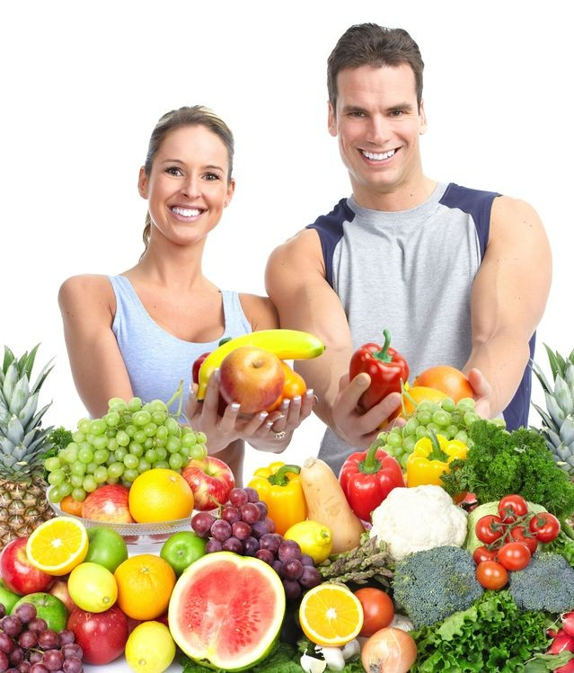 fruits, vegetables, male, female, health, nutrition